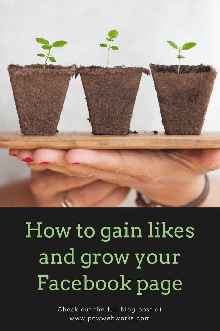 How to gain likes and grow your Facebook page