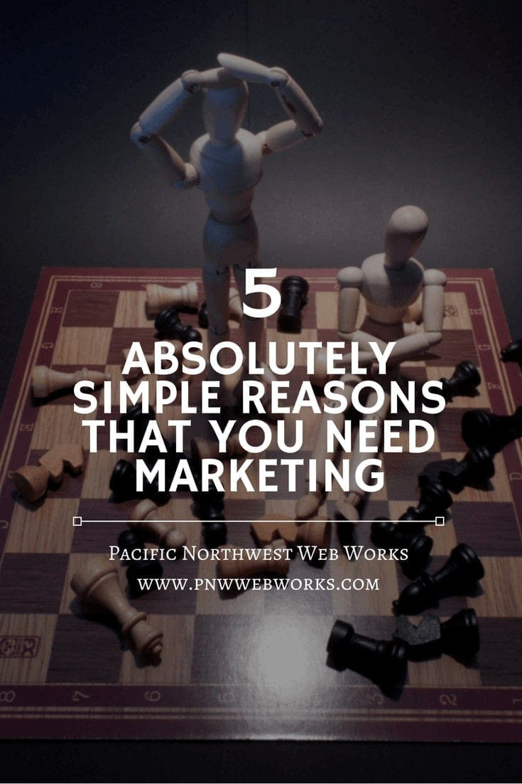 5 absolutely simple reasons that you need marketing