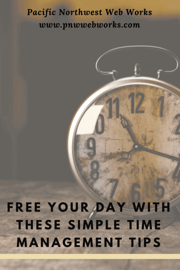 Free your day with these simple time management tips