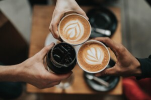 Share Your Website Over Coffee