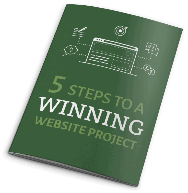 5 steps to a winning website project