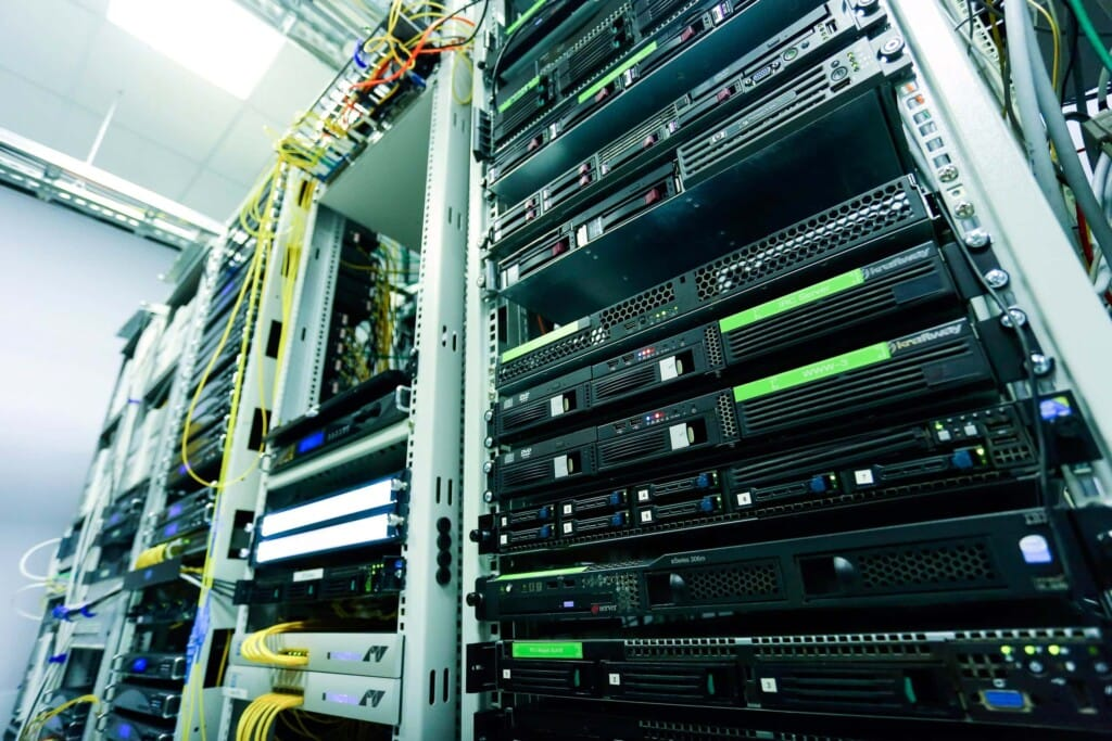 Website hosting data center